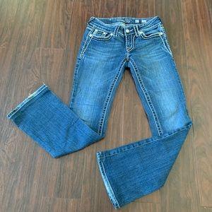 MISS ME WOMENS JP5014L SZ 27 Boot Cut Jeans